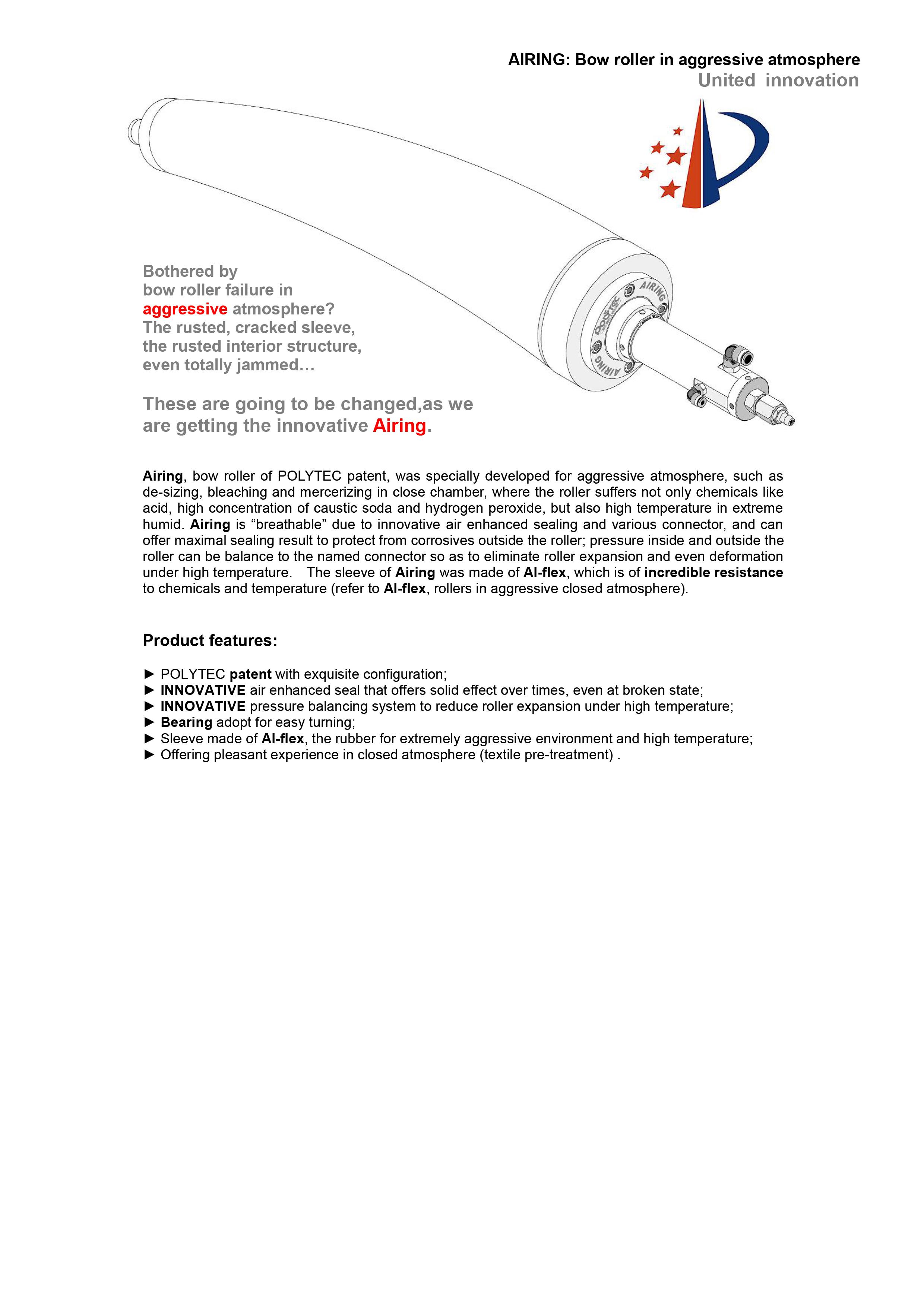 AIRING - AIRING - POLYTEC (Yangzhou) Rubber S&T Co , Ltd